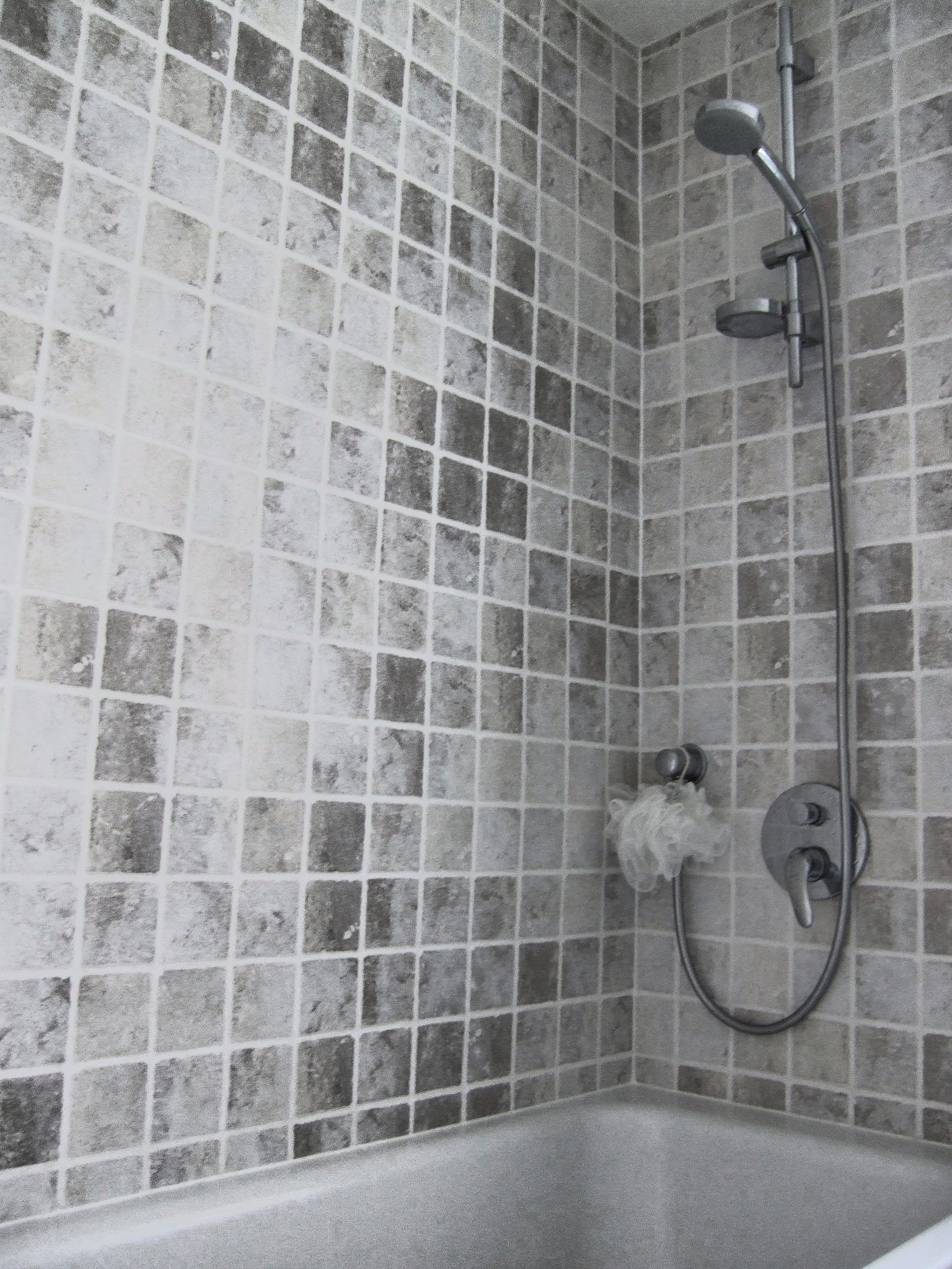hansgrohe shower valve and wall outlet shower london