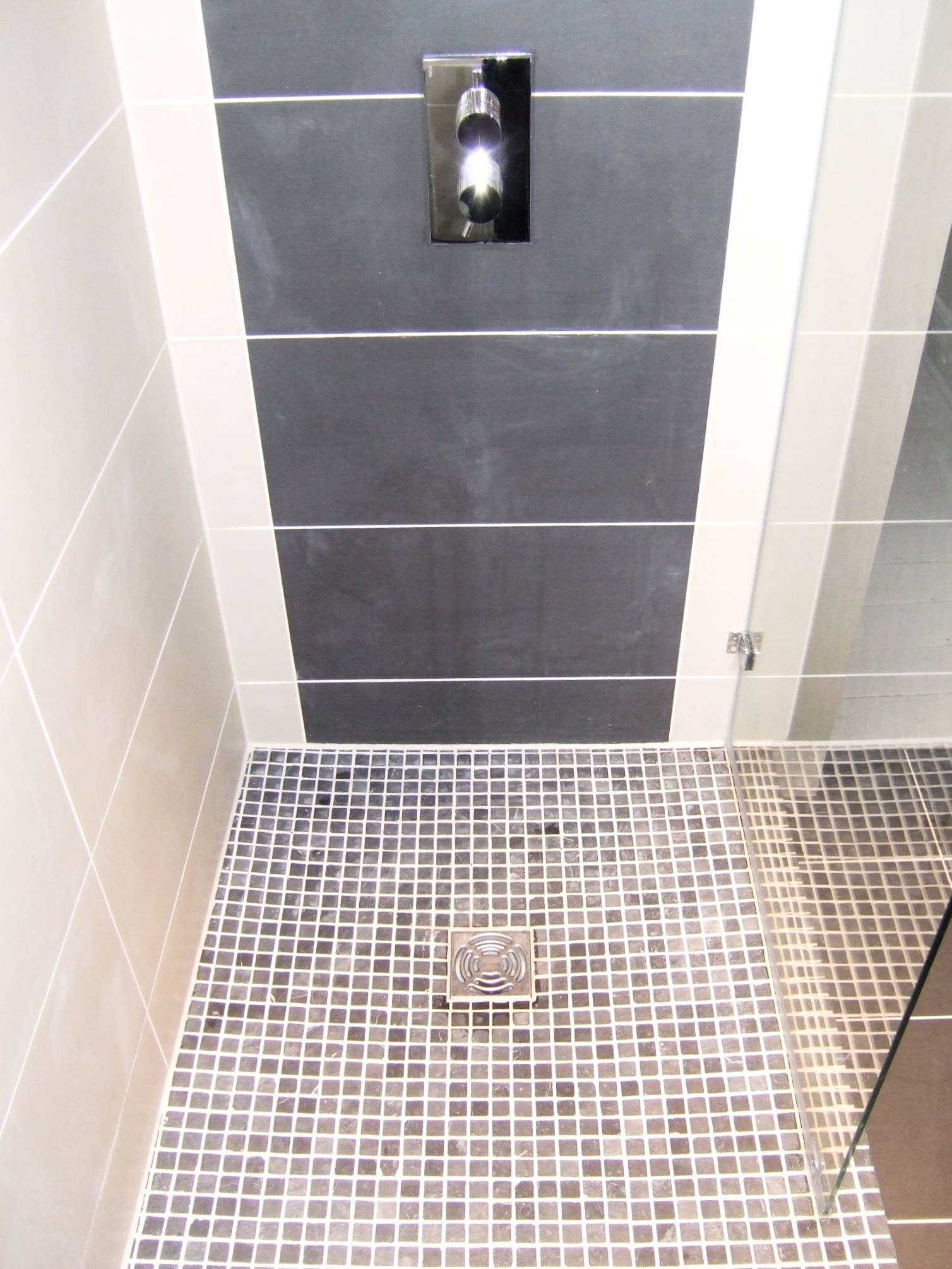 Impey Aqua Deck Wetroom Shower And Screen Mosaic Tiling Richmond