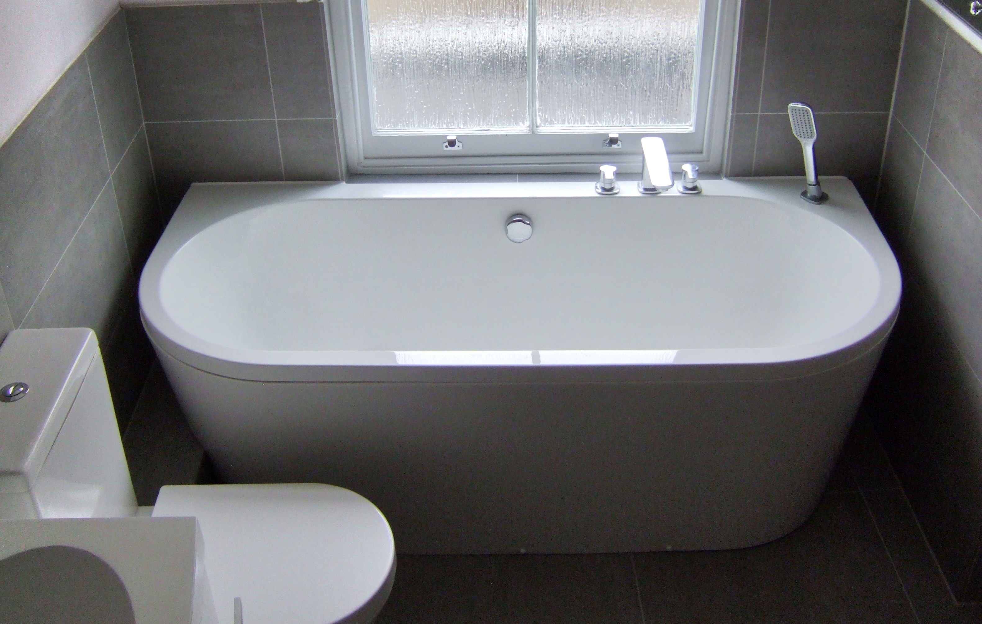 trend back to wall bath 2 london bathrooms