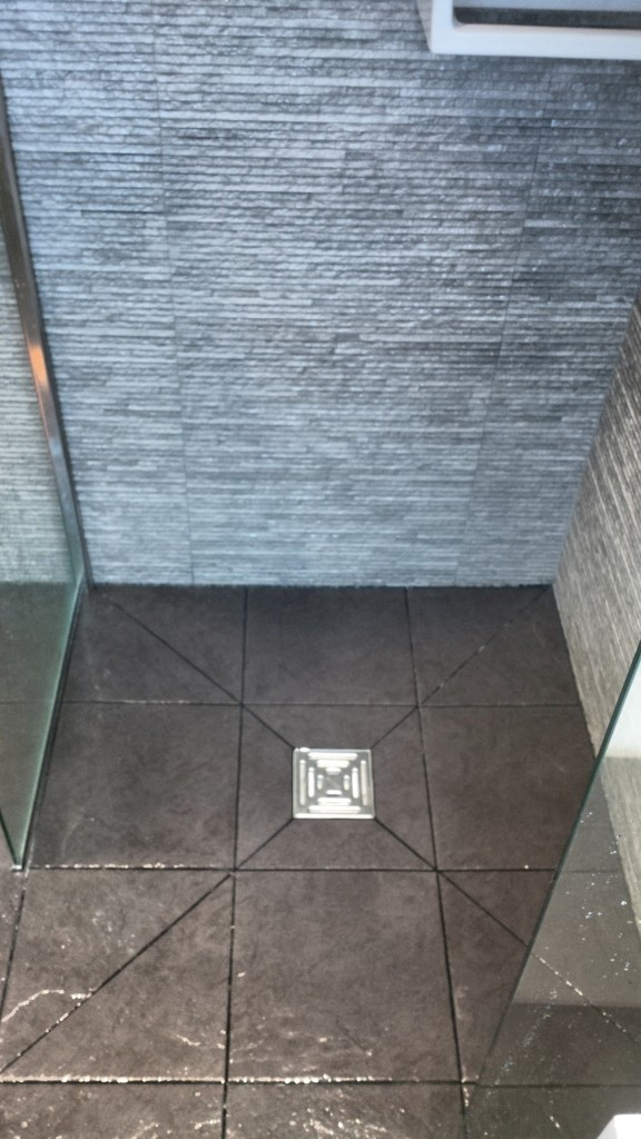 Wetroom Floor With Square Gully 2 Richmond Bathrooms