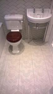 'Funky Carpet' tiles