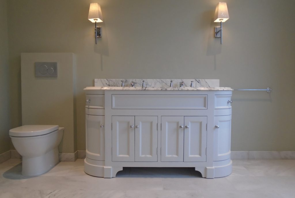 Porter Stratford painted vanity unit