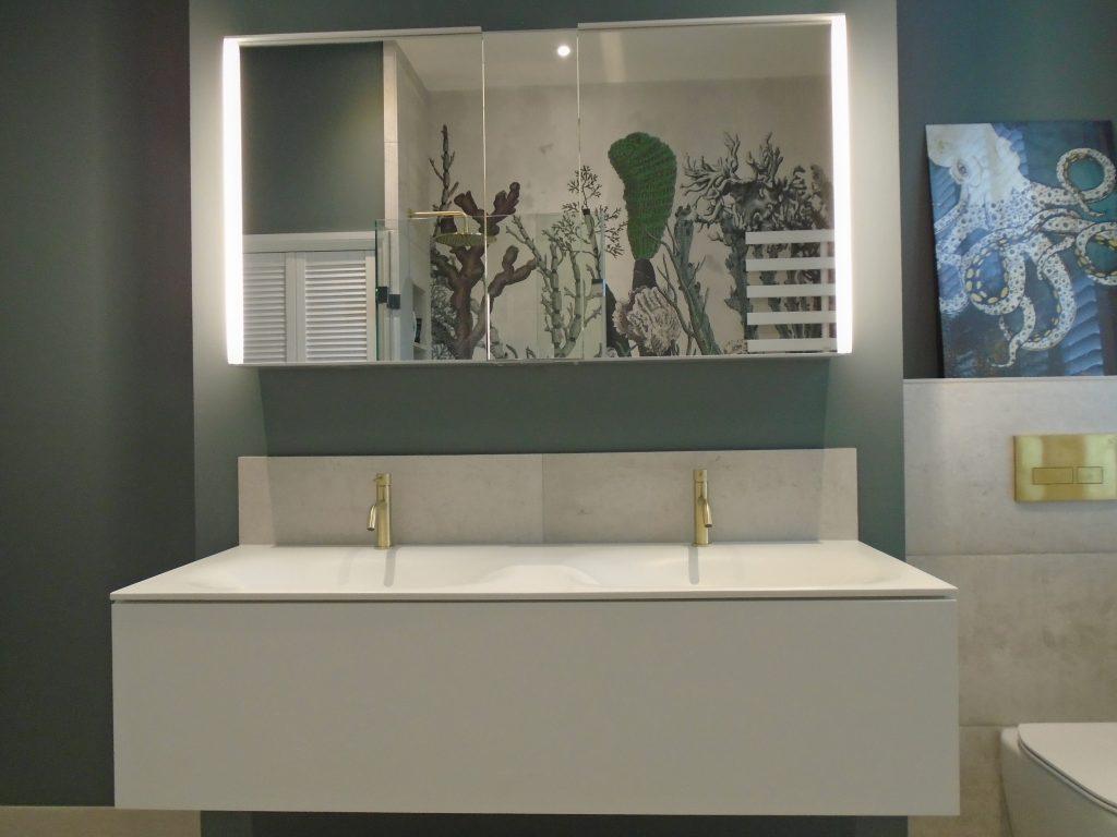 Keuco basin Edition 11 basin unit and mirror